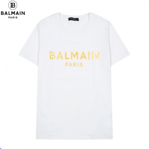 Balmain T-Shirts Short Sleeved For Men #861445