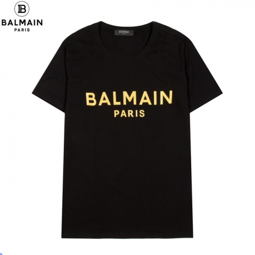 Balmain T-Shirts Short Sleeved For Men #861446