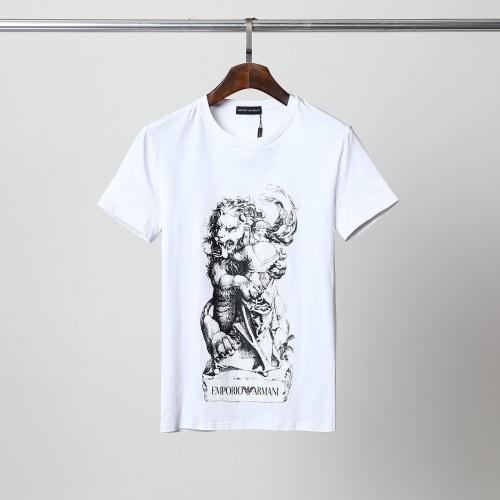 Armani T-Shirts Short Sleeved For Men #861457
