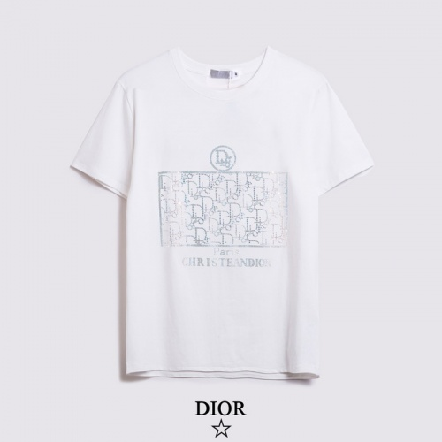 Christian Dior T-Shirts Short Sleeved For Men #861500
