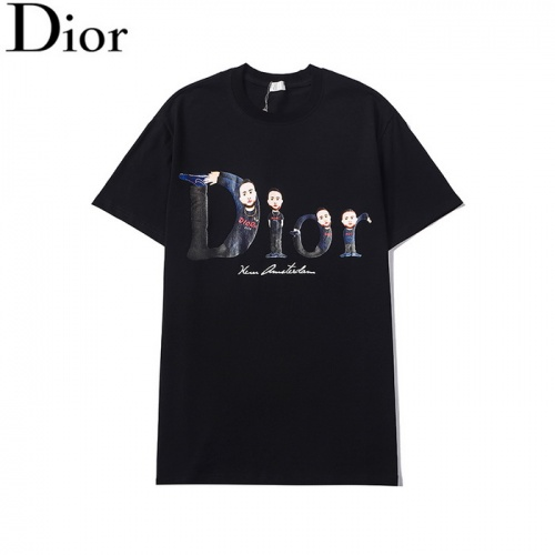 Christian Dior T-Shirts Short Sleeved For Men #861505