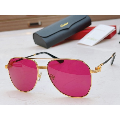Cartier AAA Quality Sunglasses #861539