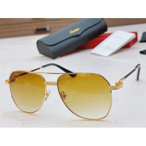 Cartier AAA Quality Sunglasses #861540
