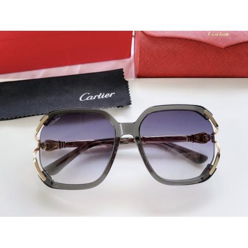 Cartier AAA Quality Sunglasses #861543