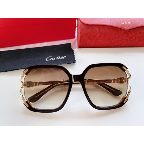 Cartier AAA Quality Sunglasses #861546