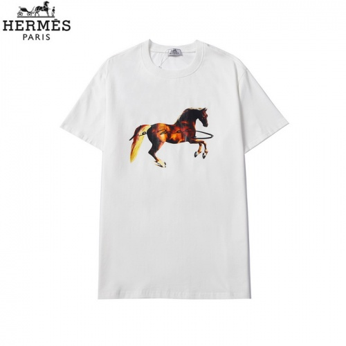 Hermes T-Shirts Short Sleeved For Men #862137