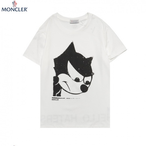 Moncler T-Shirts Short Sleeved For Men #862235