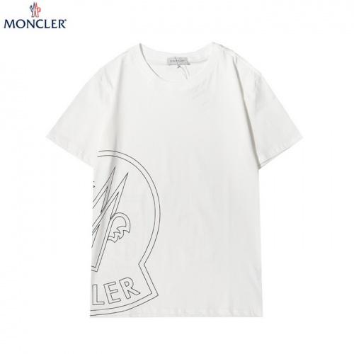 Moncler T-Shirts Short Sleeved For Men #862296