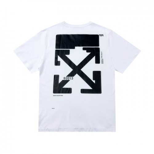 Off-White T-Shirts Short Sleeved For Men #862386