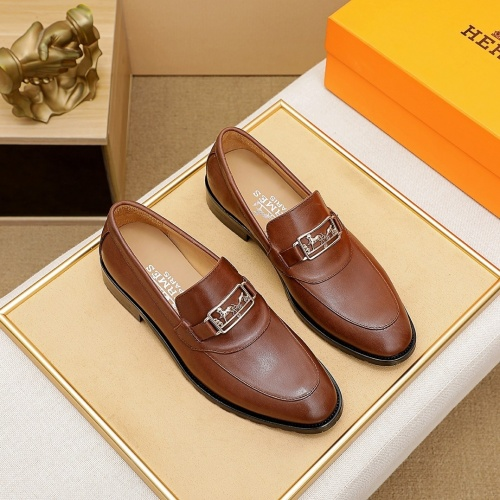 Hermes Leather Shoes For Men #862472