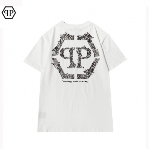 Philipp Plein PP T-Shirts Short Sleeved For Men #862502 $29.00 USD, Wholesale Replica Philipp Plein PP T-Shirts