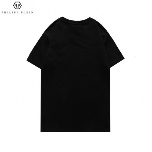 Replica Philipp Plein PP T-Shirts Short Sleeved For Men #862506 $27.00 USD for Wholesale