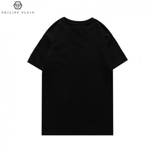 Replica Philipp Plein PP T-Shirts Short Sleeved For Men #862513 $27.00 USD for Wholesale