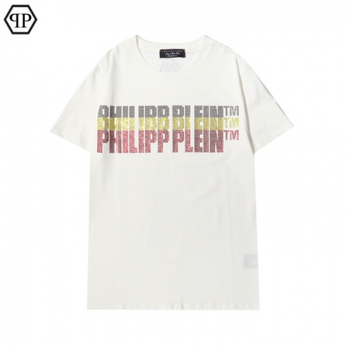 Philipp Plein PP T-Shirts Short Sleeved For Men #862537 $29.00 USD, Wholesale Replica Philipp Plein PP T-Shirts