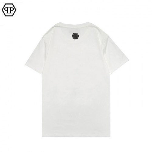 Replica Philipp Plein PP T-Shirts Short Sleeved For Men #862546 $27.00 USD for Wholesale