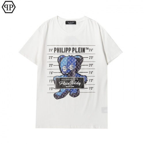 Philipp Plein PP T-Shirts Short Sleeved For Men #862555 $27.00 USD, Wholesale Replica Philipp Plein PP T-Shirts