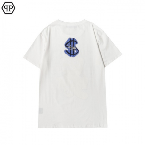 Replica Philipp Plein PP T-Shirts Short Sleeved For Men #862555 $27.00 USD for Wholesale