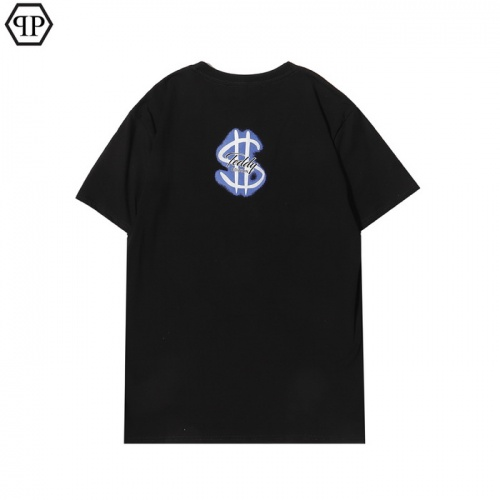 Replica Philipp Plein PP T-Shirts Short Sleeved For Men #862556 $27.00 USD for Wholesale