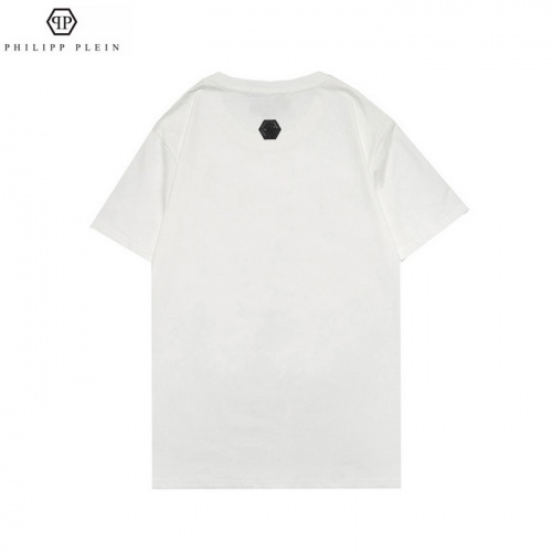 Replica Philipp Plein PP T-Shirts Short Sleeved For Men #862570 $25.00 USD for Wholesale