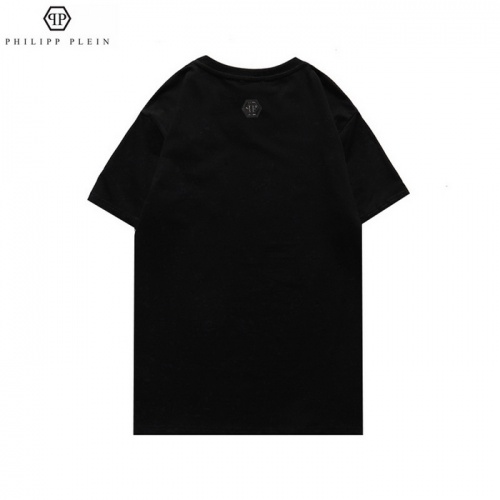 Replica Philipp Plein PP T-Shirts Short Sleeved For Men #862571 $25.00 USD for Wholesale
