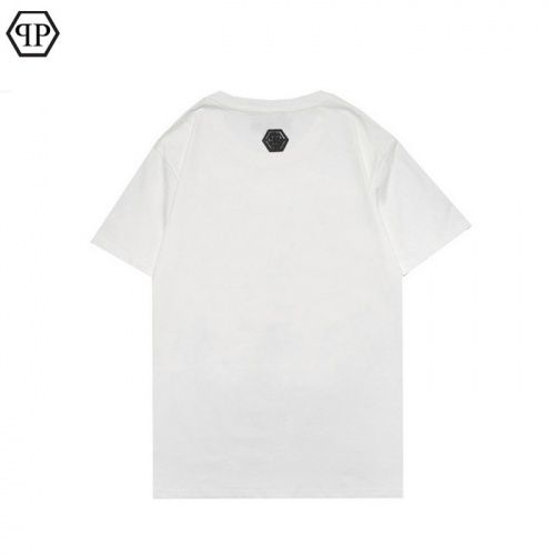 Replica Philipp Plein PP T-Shirts Short Sleeved For Men #862586 $25.00 USD for Wholesale