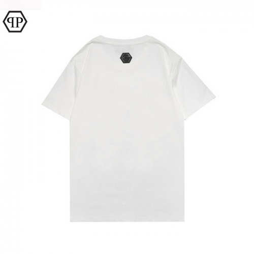 Replica Philipp Plein PP T-Shirts Short Sleeved For Men #862588 $25.00 USD for Wholesale