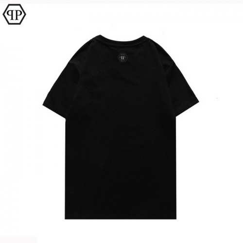 Replica Philipp Plein PP T-Shirts Short Sleeved For Men #862589 $25.00 USD for Wholesale