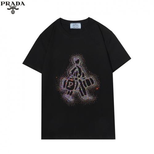 Prada T-Shirts Short Sleeved For Men #862598