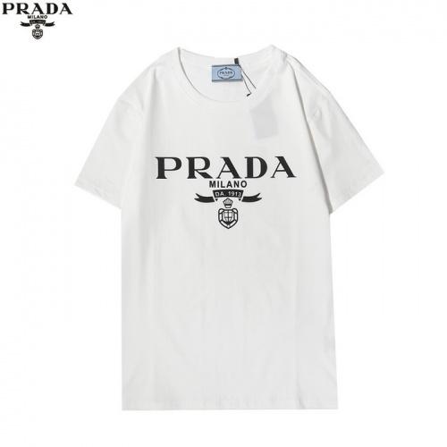 Prada T-Shirts Short Sleeved For Men #862605