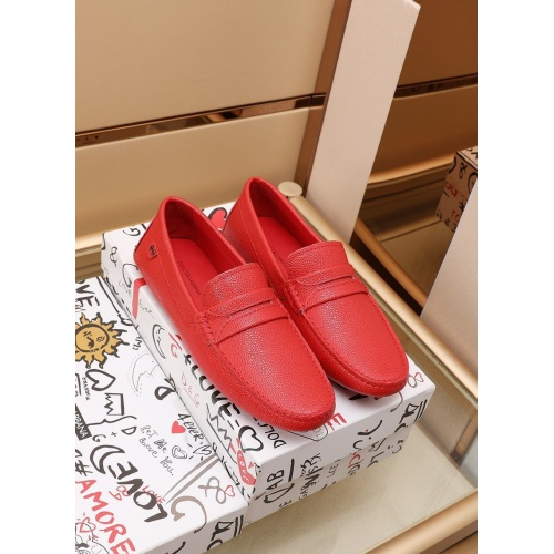 Dolce & Gabbana D&G Leather Shoes For Men #862643