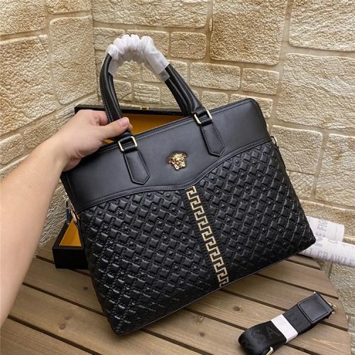 Versace AAA Man Handbags #862708