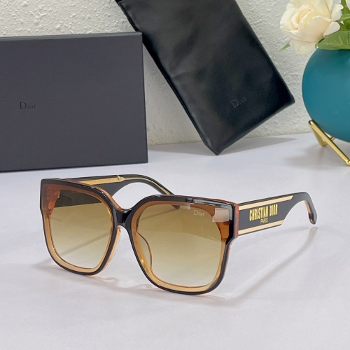 Christian Dior AAA Quality Sunglasses #863020