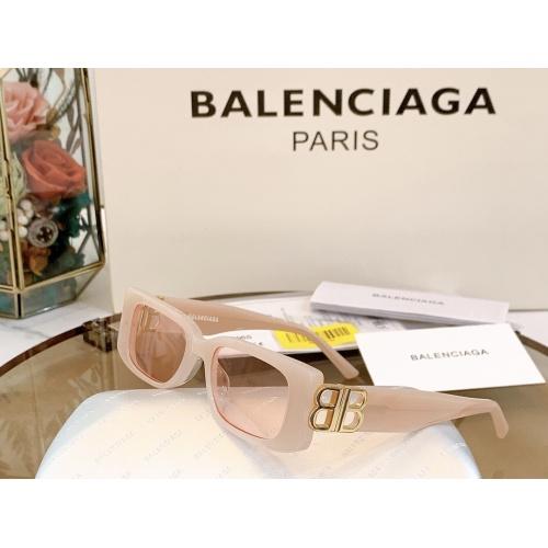 Balenciaga AAA Quality Sunglasses #863158