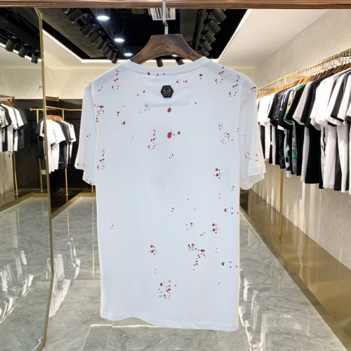 Replica Philipp Plein PP T-Shirts Short Sleeved For Men #863225 $41.00 USD for Wholesale