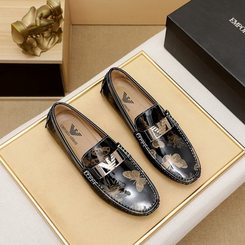 Armani Leather Shoes For Men #863548