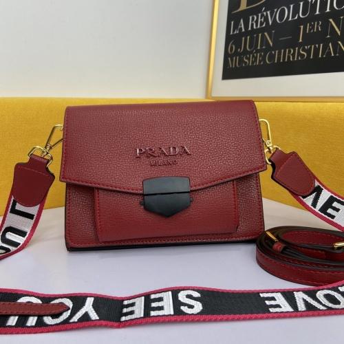 Prada AAA Quality Messeger Bags #863570 $98.00 USD, Wholesale Replica Prada AAA Quality Messeger Bags
