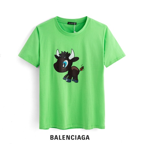 Balenciaga T-Shirts Short Sleeved For Men #863643