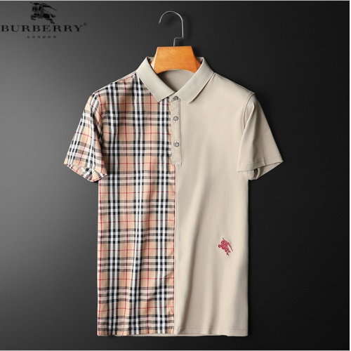 Burberry T-Shirts Short Sleeved For Men #863729