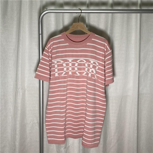 Christian Dior T-Shirts Short Sleeved For Men #863796