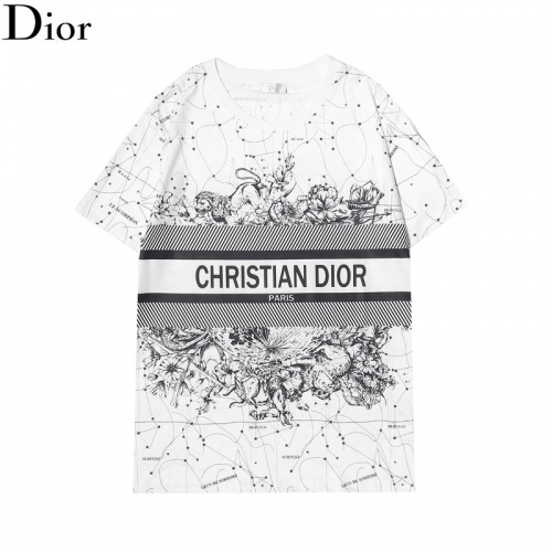 Christian Dior T-Shirts Short Sleeved For Men #863801
