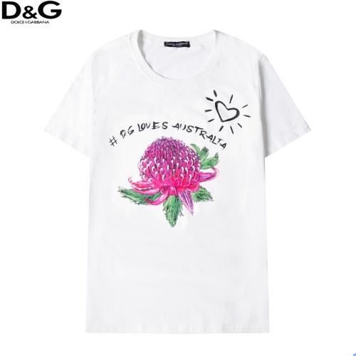 Dolce & Gabbana D&G T-Shirts Short Sleeved For Men #863817