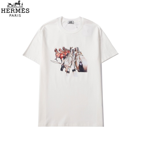 Hermes T-Shirts Short Sleeved For Men #863837