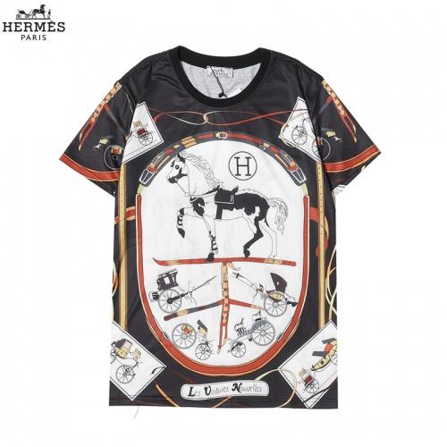 Hermes T-Shirts Short Sleeved For Men #863838