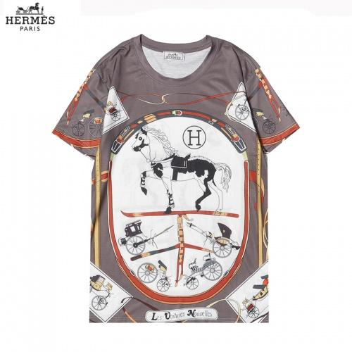 Hermes T-Shirts Short Sleeved For Men #863841