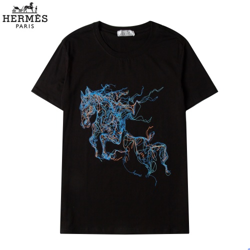 Hermes T-Shirts Short Sleeved For Men #863842