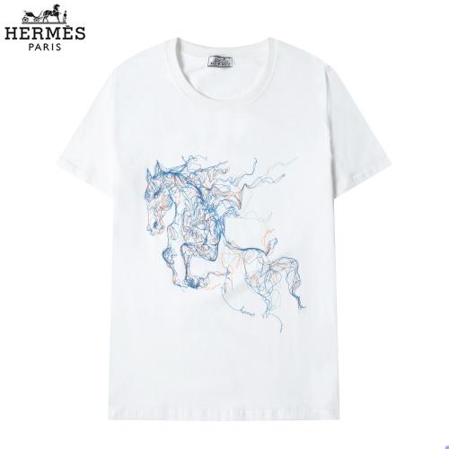 Hermes T-Shirts Short Sleeved For Men #863843
