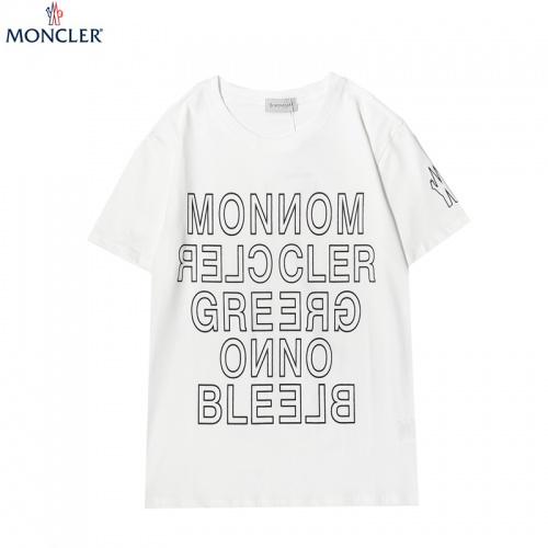 Moncler T-Shirts Short Sleeved For Men #863881