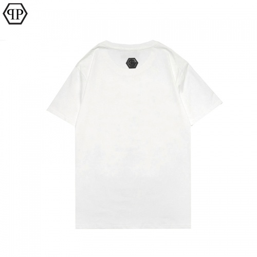 Replica Philipp Plein PP T-Shirts Short Sleeved For Men #863909 $27.00 USD for Wholesale
