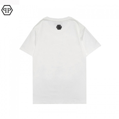 Replica Philipp Plein PP T-Shirts Short Sleeved For Men #863912 $27.00 USD for Wholesale