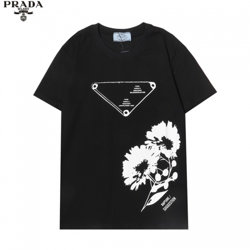 Prada T-Shirts Short Sleeved For Men #863913